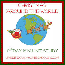 learning about around the world 6 day mini unit study