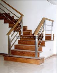 Banister Rails Metal Metal And Wood Railings Contemporary Stainless Steel Railings