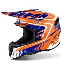 airoh motocross helmets airoh helmet twist mix orange gloss progearmoto europe
