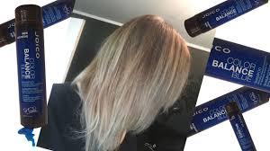 joico color balance blue shampoo review toning shampoo product