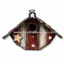 wholesale wooden birdhouse for thanksgiving or american national