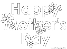 coloring pages mothers day flowers happy mothers day flowers cute coloring pages printable