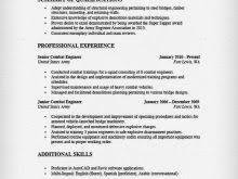 sample resume military to civilian military police resume samples