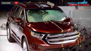 Ford Edge Safety Rating 2017 Ford Escape Vs 2016 Ford Edge Crash Test Youtube