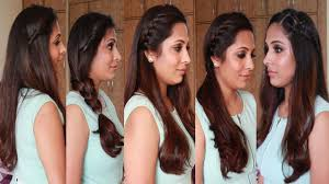heatless hair styles simple hairstyle make by self 5 quick easy hairstyles heatless