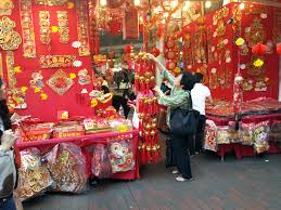 blog to express chinese new year 2013 shopping in chinatown