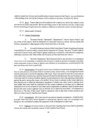 Consent Letter Format From Landlord Cranberry Woods Lease