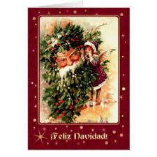 feliz navidad christmas card feliz navidad vintage christmas cards invitations
