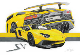 lamborghini car drawing realistic car drawings lamborghini forum