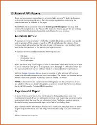 review research paper format