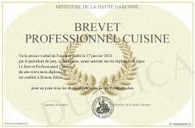 brevet professionnel cuisine brevet professionnel cuisine