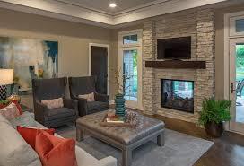 Modern Country Family Room Dream Home Designer - Family room in french