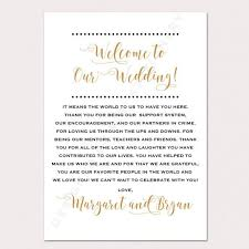 personalized wedding welcome bags best 25 wedding welcome letters ideas on diy wedding