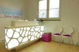 Modern Office Reception Table Design