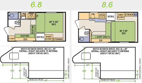 Montana Rv Floor Plans by Livin Lite Camp Lite Truck Camper Pierce Rv Supercenter
