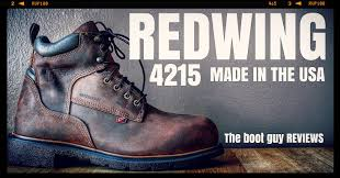 redwing 4215 men u0027s 6 inch boot made in usa the boot guy