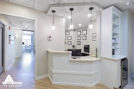 Simple Reception Room Interior Design by Simple And Bright Reception Area Dental Office Design By Arminco