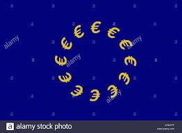 The European Flag Illustration A European Union Eu Flag Illustrated With The
