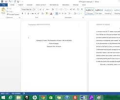 header templates for word formatting apa style in microsoft word 2013 9 steps