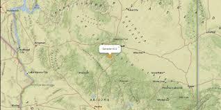 Sedona Map Small Earthquake Shakes Sedona Flagstaff