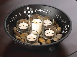 decorative bowls and candles my decorative
