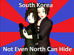 North Korea South Korea Meme - south korea meme by cam0001 on deviantart