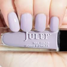 julep posey nail color treat polish lavender fog creme bnib