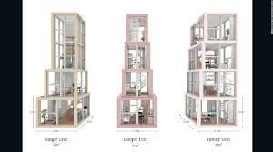 Stacked Townhouse Floor Plans by Could These
