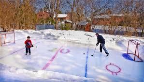 Backyard Hockey Rink by Backyard Hockey Rinks