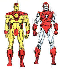 marvel comics of the 1980s 1987 preliminary new armor sketches