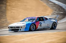 bmw supercar the one racing the mid engine bmw m1 supercar at mazda raceway