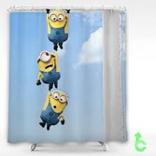 cheap despicable me 2 minions need help shower curtain shower