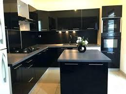 cuisine noir laqué pas cher cuisine equipee noir cuisine design laque noir swd cuisine equipe