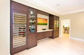 dining room wall units wine storage for modern dining rooms