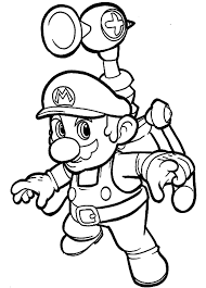 cool mario bros coloring pages cartoon coloring pages
