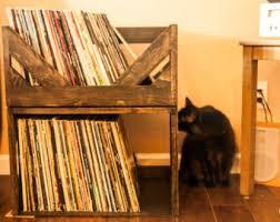 Vinyl Record Bookcase Vinyl Storage Etsy