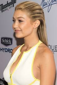 yolanda foster hair tutorial gigi hadid s sports illustrated party hair how to celebrity
