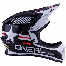 helmets motocross oneal new 2017 mx 3 series afterburner dirt bike white black
