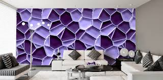wandgestaltung lila ideen ehrfürchtiges tapeten lila farbe wandgestaltung