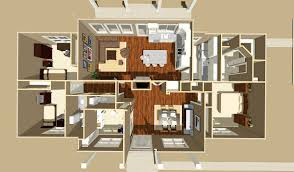 Detached Garage Floor Plans Flexible Country Plan With Detached Garage 28911jj