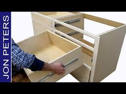 how to build bottom cabinets how to build kitchen cabinets install drawer slides