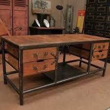 industrial office desk home interior inspiration