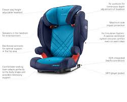 Seat by Monza Nova 2 Seatfix Recaro Child Seat Group Ii Iii