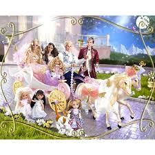 barbie princess pauper royal kingdom horse carriage