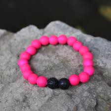 mana vibes kids beaded bracelet essential oil kids bracelet