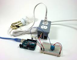 touch l on off plug in control any appliance into a smart device with an arduino controlled power