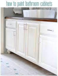 oil based paint for cabinets how to paint bathroom cabinets other bathroom remodeling tips from