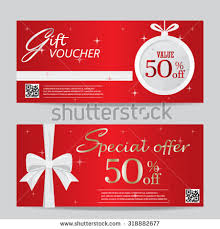 Design Gift Cards For Business Gift Card Layout Template Red Black Stock Vector 519668344