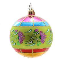 christopher radko midsummer fantasia glass ornament