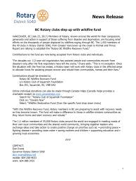 Wildfire Quesnel by Quesnelrotary Com